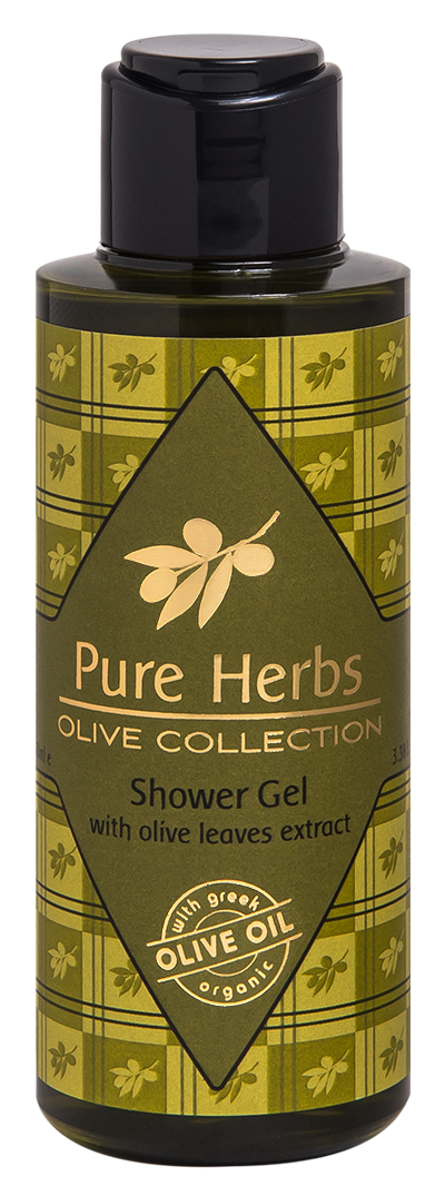 Shower Gel<BR/>Pure Herbs Olive Collection<BR/>Miniatures 100ml
