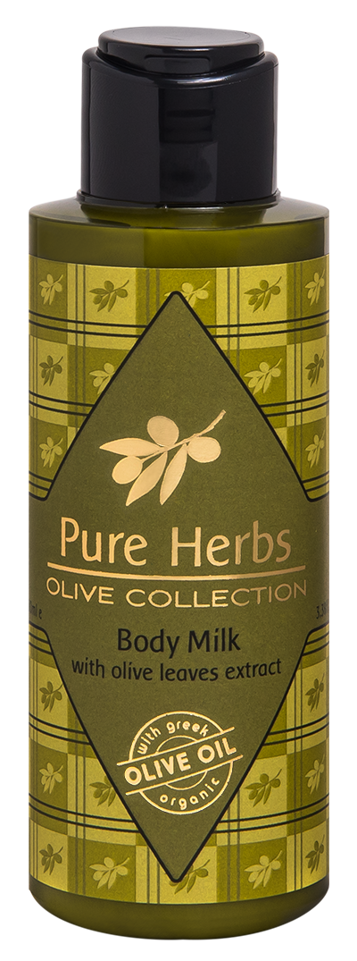 Body Milk<BR/>Pure Herbs Olive Collection<BR/>Miniatures 100ml