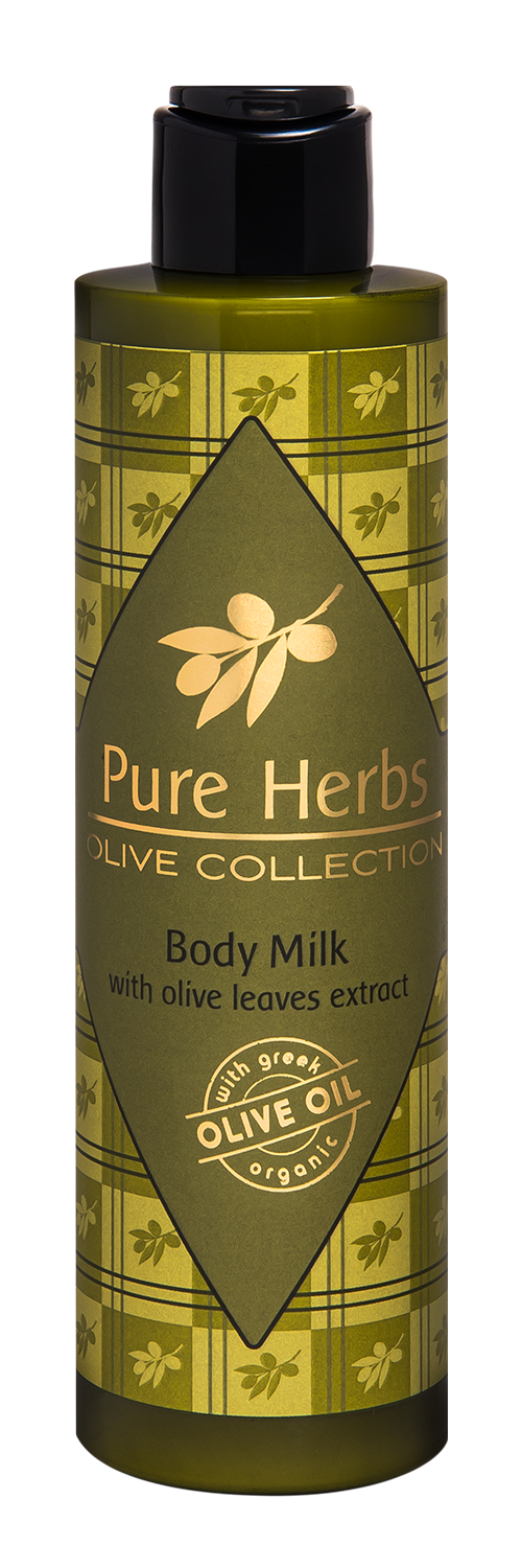 Body Milk<BR/>Pure Herbs<BR/>Olive Collection 200ml